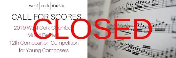 2019 Call For Scores - Closed
