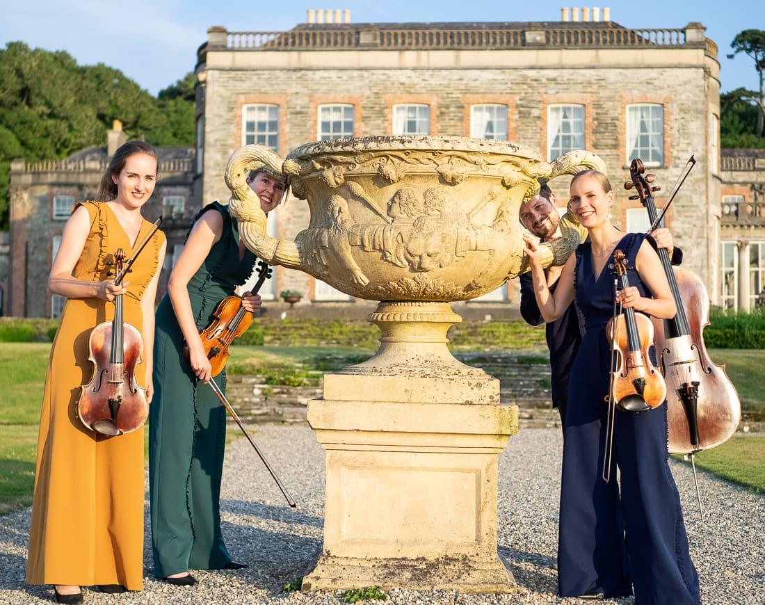 Dudok Quartet Amsterdam in Bantry House gardens
