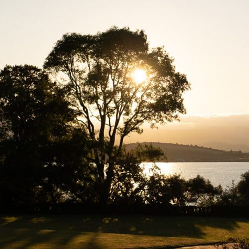 Bantry House Sunset