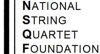 National String Quartet Foundation (NSQF) logo