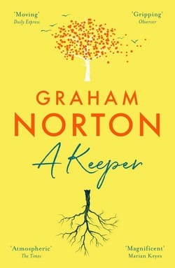 Graham Norton book cover - A Keeper