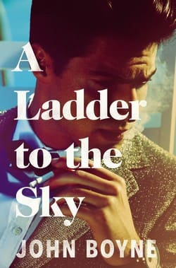 John Boyne book cover - A Ladder to the Sky
