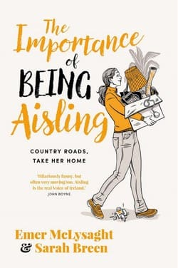 Sarah Breen and Emer McLysaght book cover - The Importance of Being Aisling