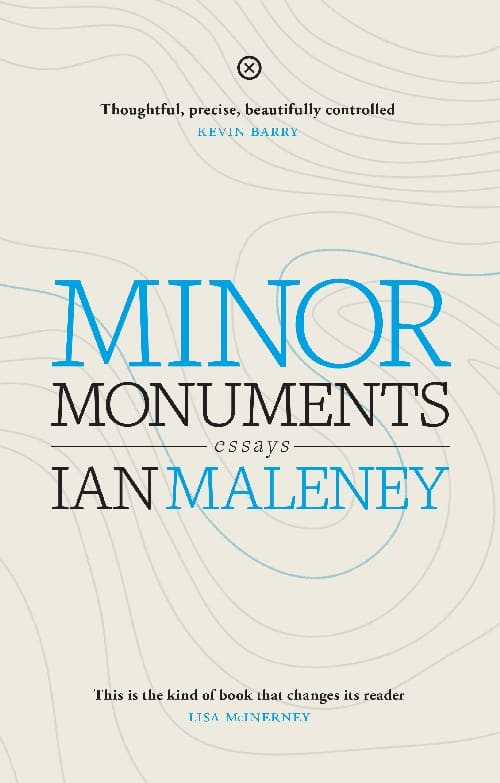 Minor Monuments Cover - Ian Melaney