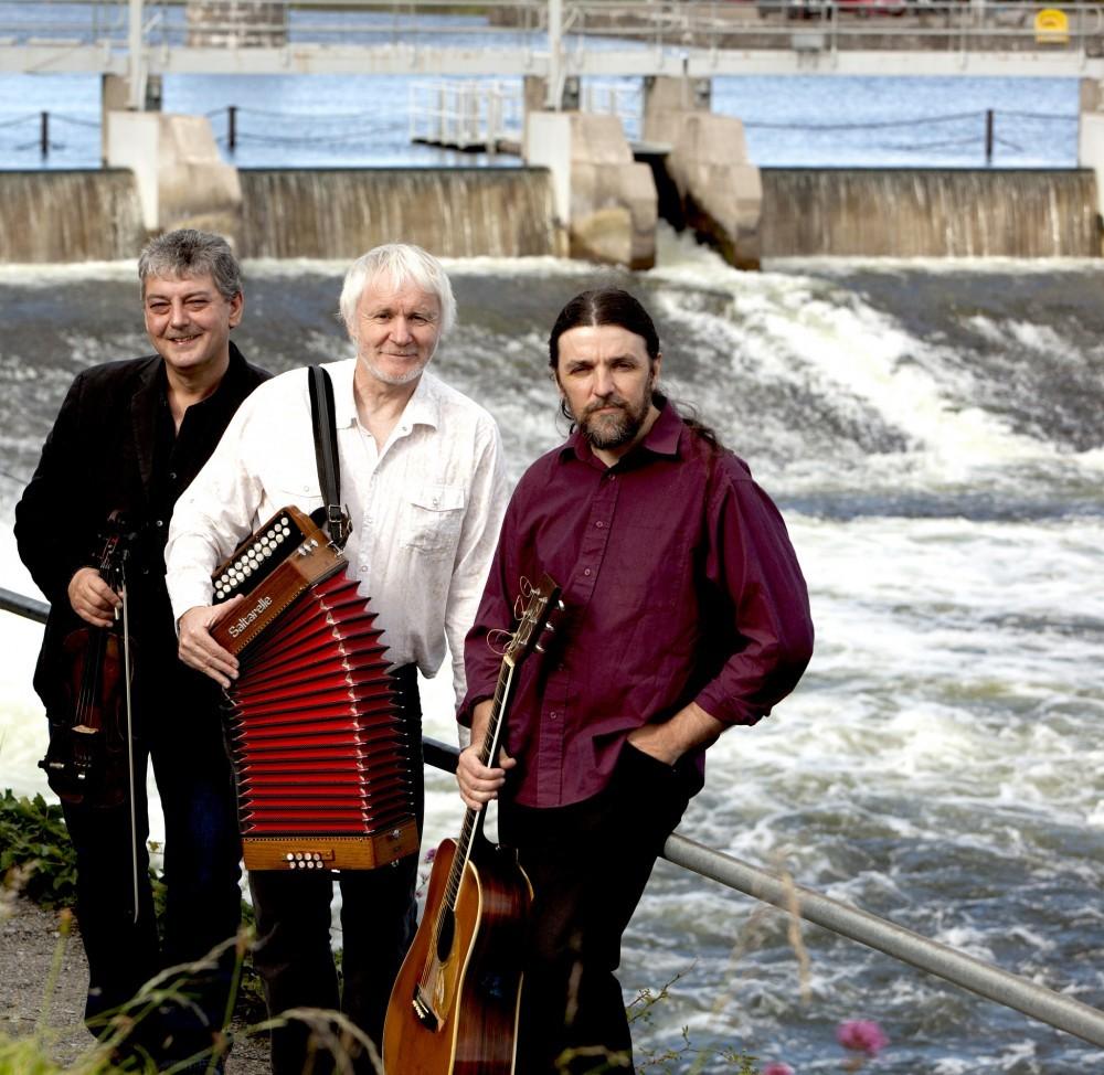 Máirtín O'Connor, Cathal Hayden and Seamie O'Dowd 2019 Skibbereen Arts Festival