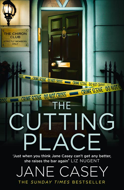 Jane Casey - The Cutting Place Cover