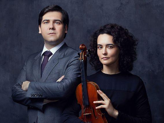 Alena Baeva and Vadym Kholodenko