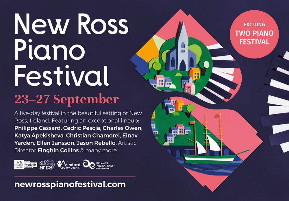 New Ross Piano Festival Ad 2020