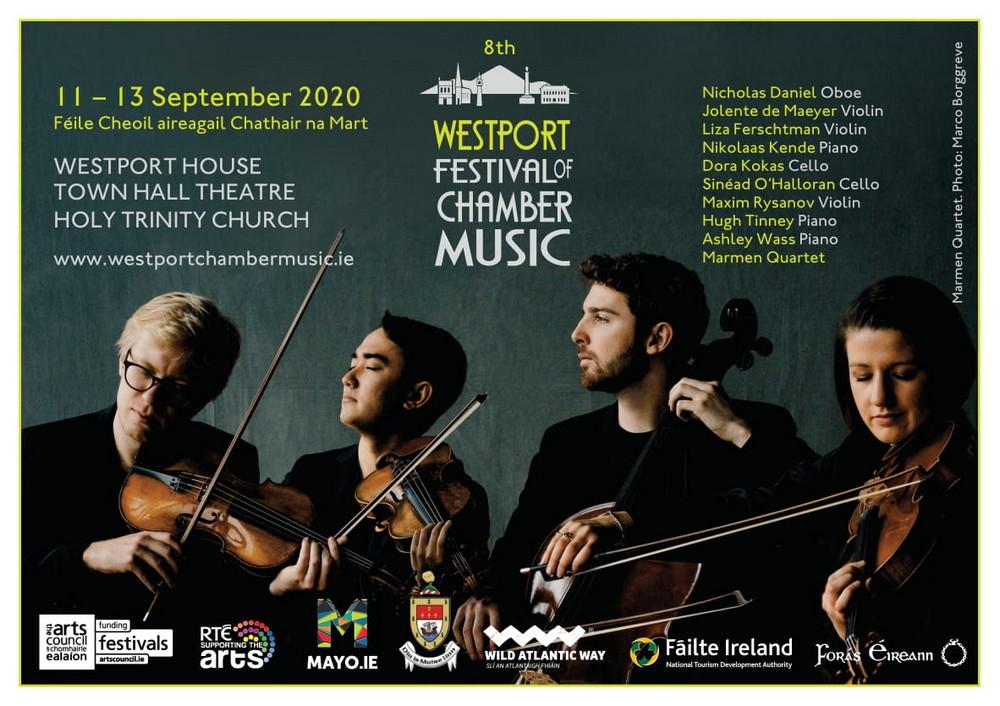 Westport Chamber Music Festival Ad 2020