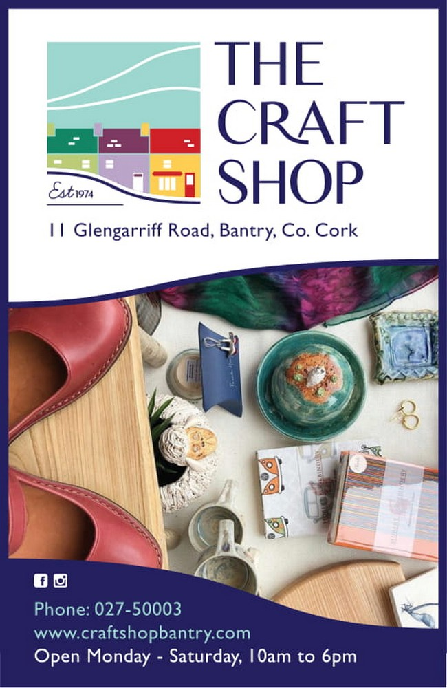 the Craft Shop Bantry Ad 2020