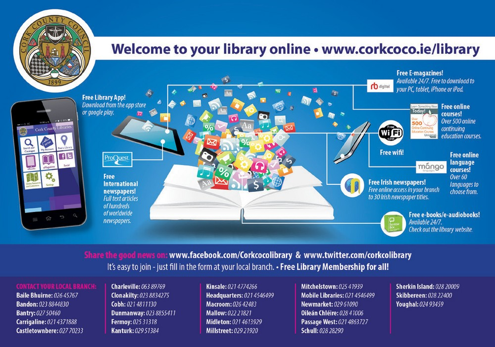 Cork County Library - LF Ad 2019