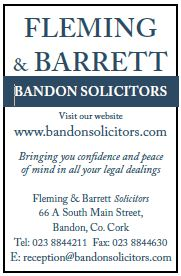 Fleming & Barrett Solicitors 2019 CMF Ad