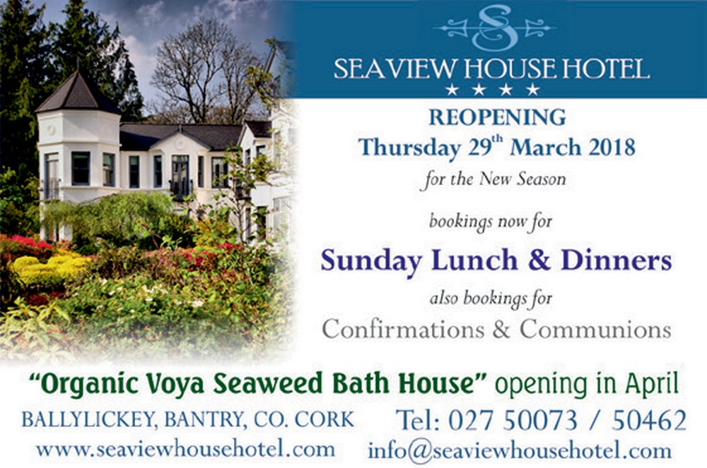 Seaview House Hotel LF 2019 Ad