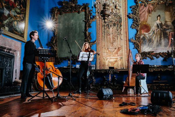 Neil Ó Lochlainn, Lucia Mac Partlin and Eilís Lavelle
